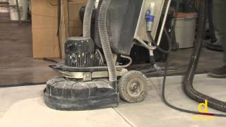 getlinkyoutube.com-Concrete Surface Preparation using Diamond Grinding Machine