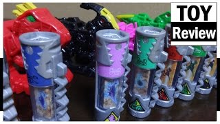getlinkyoutube.com-파워레인저 다이노포스 다이노셀 레드 & 블랙 미국판 장난감 Power Rangers Dino Charge Power Pack Red & Black toy