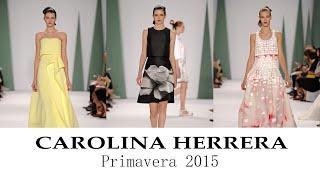 getlinkyoutube.com-Carolina Herrera: Vestidos de Fiesta 2015 (Colección Primavera Verano)