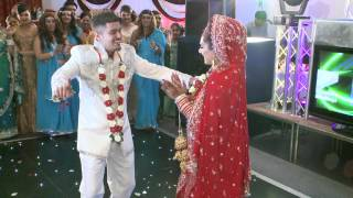 getlinkyoutube.com-Best Wedding Dance, Rahul & Sangeeta, 1st Part