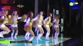 getlinkyoutube.com-【HD Live】少女時代SNSD - Oh! & Run Devil Run (金唱片頒獎典禮) (101209)