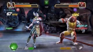 getlinkyoutube.com-Jane Foster Lady Thor vs UC 2