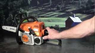 getlinkyoutube.com-The chainsaw guy shop talk Stihl MS 170 chainsaw 6 12