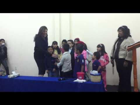 Textos Biblicos por niños Iglesia de Jesucristo Palabra Miel Mahanaim Leon
