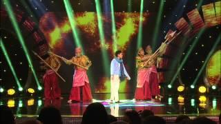 getlinkyoutube.com-Ceria Popstar 3: Konsert Separuh Akhir - Fikry (Tanya Sama itu Hud Hud)