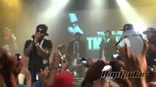 Young Jeezy invite Kanye West & Jay-Z sur scène