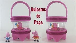 getlinkyoutube.com-Como hacer dulceros de Pepa