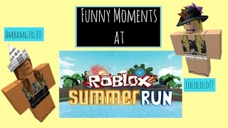 getlinkyoutube.com-Funny Moments In Roblox Summer Run with Ambamgirl80 & Lolololo77