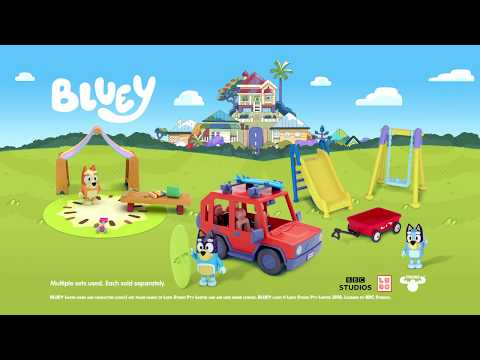 Bluey Bingo's Playroom or Bluey's Playground Mini Playsets - Assorted*