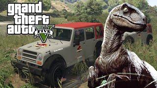 getlinkyoutube.com-*Raptors!* GTA 5 Jurassic Park Ep. 1