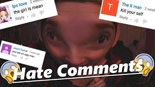 getlinkyoutube.com-READING HATE COMMENTS! GONNA CRY BLOOD!