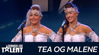 getlinkyoutube.com-Tea og Malene - Danmark har talent - Audition 4