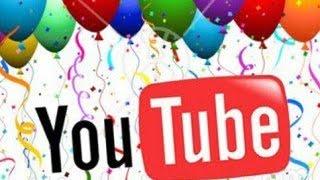 Сколько лет YouTube?