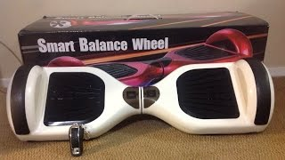 getlinkyoutube.com-Unboxing: Smart Balance Wheel | Hoverboard | Swegway | Monorover | PhunkeDuck | Hover Trax |