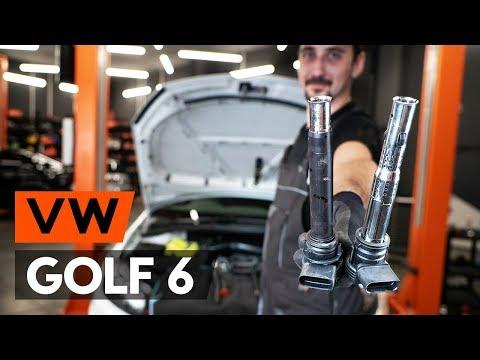 Как да сменим запалителна бобина на VW GOLF 6 (5K1) (ИНСТРУКЦИЯ AUTODOC)