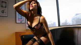 getlinkyoutube.com-Sexy Office Striptease