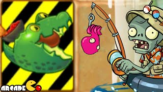 getlinkyoutube.com-Plants Vs Zombies 2: Big Wave Beach Part 2 Day 30 Endanger Plants Guacodile