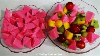 getlinkyoutube.com-Rose Agar Agar Pudding Recipe-Rose Agar Agar Jelly Recipe By Healthy Food Kitchen