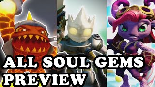 getlinkyoutube.com-Skylanders Superchargers - All Characters Soul Gems Preview HD