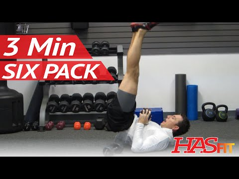 Six Pack in 3 Minutes | Ab Exercises Workout Class by Coach Kozak | How to get a 6 pack fast!