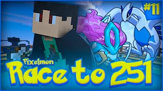 "getlinkyoutube.com-""SUICUNE & LUGIA!?"" - Minecraft Pixelmon 4.0.6: Race to 251 - Episode 11 (Pixelmon 1.8 Survival SMP)"