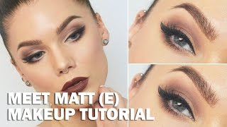 getlinkyoutube.com-Meet Matt (e) (with subs) - Linda Hallberg Makeup Tutorials