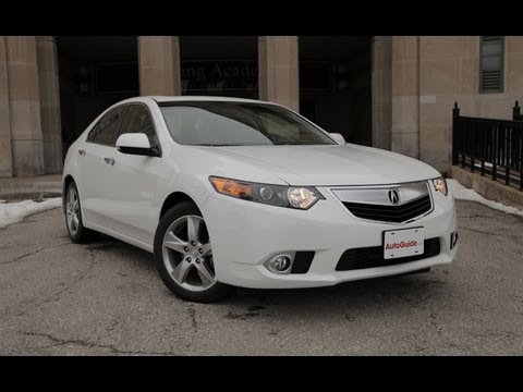 2013 Acura TSX Review