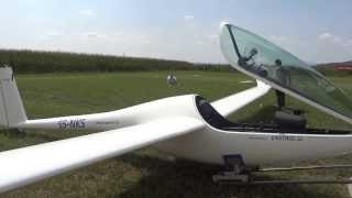 getlinkyoutube.com-One man assembling glider plane with SPRC made by Enstroj (less than 15 min)