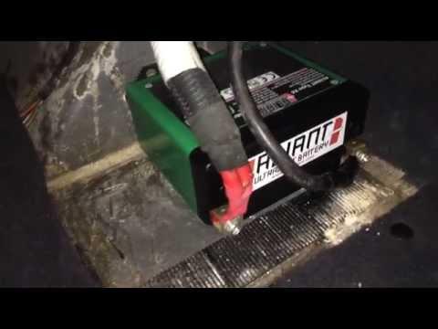 Aliant X4 Battery in Lotus Elise 111R