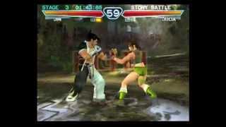getlinkyoutube.com-Tekken 4 (PlayStation 2) Story Battle as Jin