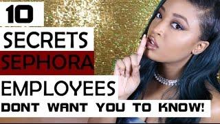 getlinkyoutube.com-10 Secrets Sephora Employees Dont Want You To Know