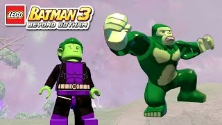 getlinkyoutube.com-LEGO Batman 3 - Beast Boy - Free Roam Gameplay