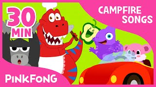 getlinkyoutube.com-Campfire Songs for Kids | Food, Jungle Animal and More | + Compilation | PINKFONG Songs for Children
