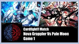getlinkyoutube.com-Cardfight!! Vanguard - Nova Grappler (Beast Deity) Vs Pale Moon (Silver Thorn) - Game 1