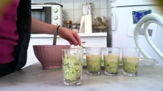 getlinkyoutube.com-Recette verrine : avocat et sauce au yaourt - Verrine facile