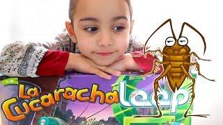 getlinkyoutube.com-La Cucaracha Loop! Juego de mesa con Andrea.