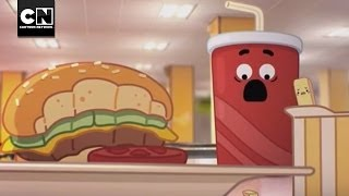 getlinkyoutube.com-Lunchroom Warfare | The Amazing World of Gumball | Cartoon Network