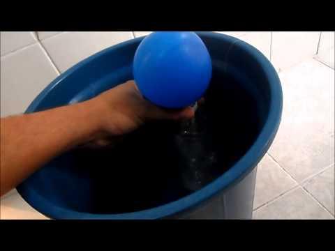 Balão com Gás Helio Caseiro