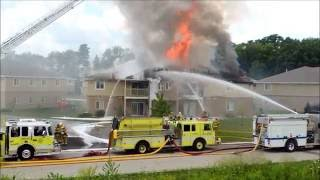 getlinkyoutube.com-4-alarm apartment fire in Sheboygan Falls