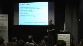 getlinkyoutube.com-Steve Loughran  -  Hadoop and Kerberos - The madness beyond the gate