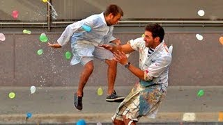 getlinkyoutube.com-Slow Motion Water Balloon Fight with 1500 people Starring Freddie Wong