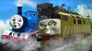 getlinkyoutube.com-Thomas and the Magic Railroad: Chase Scene! PT BOOMER - OO/HO REMAKE