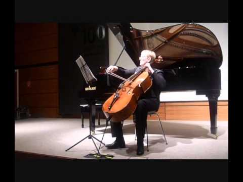 Ioana Meier-Ostafi: Free Improvisation for Cello on Theme of G. Enescu