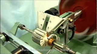 getlinkyoutube.com-Bobinadora G.M.R Modelo I.66 (Rotores/Inducidos) -  Nuevo sitio web: www.bobinadorasgmr.com