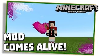 Minecraft PE 0.12.3: COMES ALIVE MOD - The Sims Craft! (Pocket Edition | MCPE)