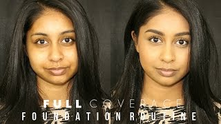 getlinkyoutube.com-FULL Coverage Foundation Routine!!