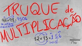 getlinkyoutube.com-TRUQUE: Como Multiplicar Números com 2 Algarismos MUITO RÁPIDO | Matemática Rio