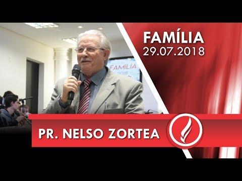 Culto da Família - Pr. Nelso Zortea - 29 07 2018