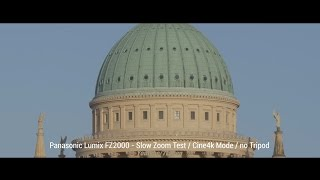 getlinkyoutube.com-Panasonic Lumix FZ2000 - Slow Zoom Test (Cinema 4k/UHD)