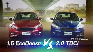 getlinkyoutube.com-Ford Focus 1.5 EcoBoost & 2.0 TDCi 試駕:攻頂的抉擇!